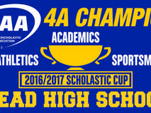 Mead high school was the academic state champion at the 4A level for the 2016/17 school year.