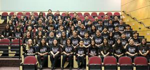 Pictured are Mission CISD All City Band members.