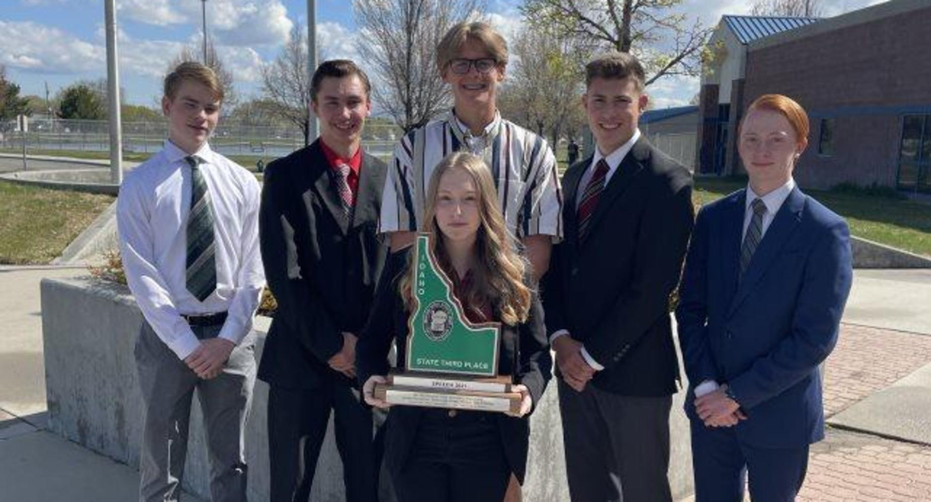 Skyview took 3rd at State Speech