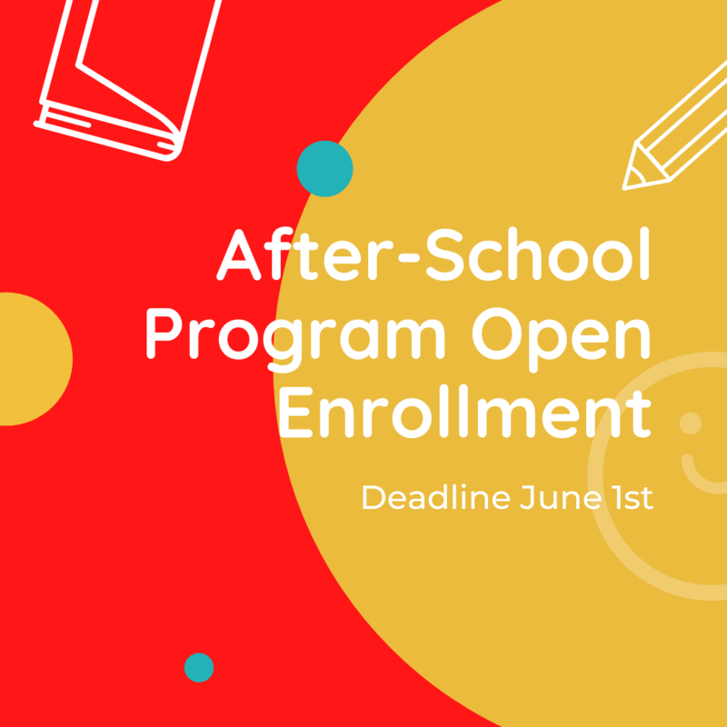 Open Enrollment for After-School Program! Featured Photo