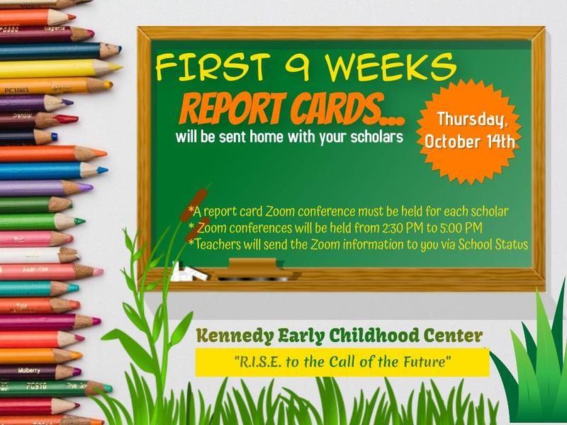 Kennedy Early Childhood Center Report Card News