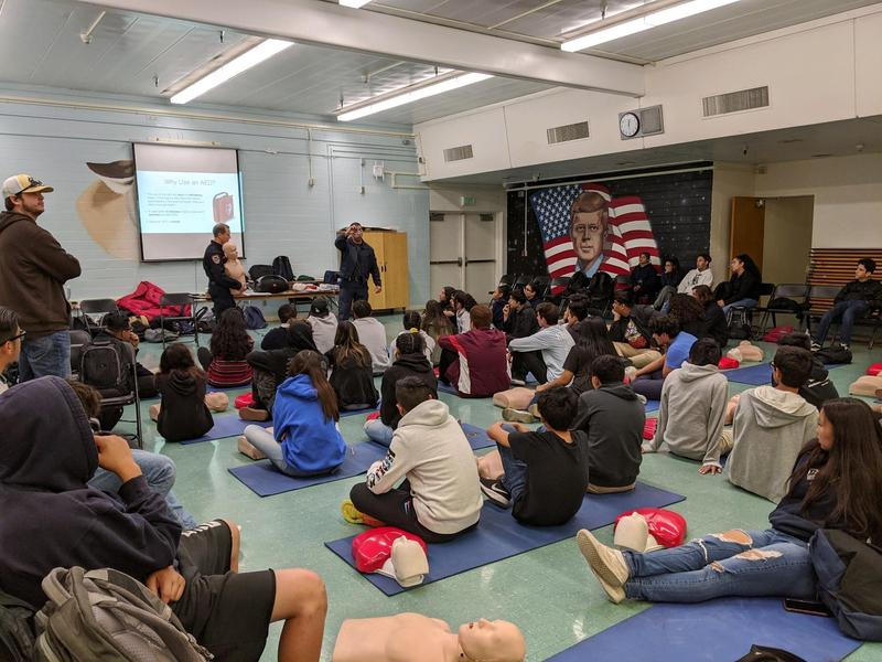 Health Students Learn CPR Featured Photo