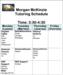 Updated Tutoring Schedule