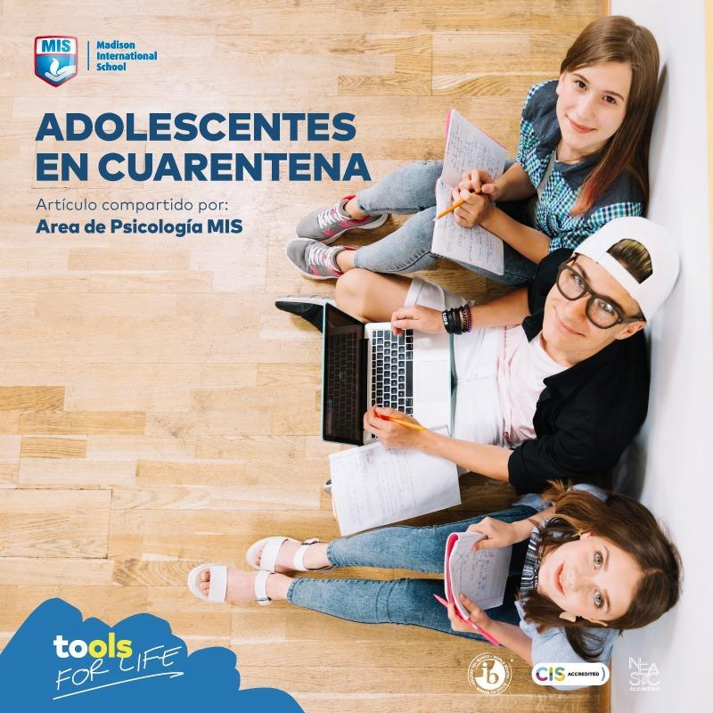 Adolescentes en Cuarentena. Featured Photo