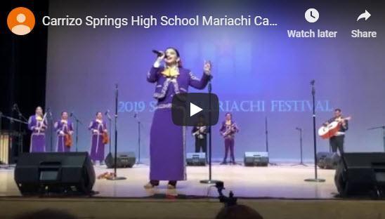 Carrizo Springs  High School Mariachi Carizeño Featured Photo