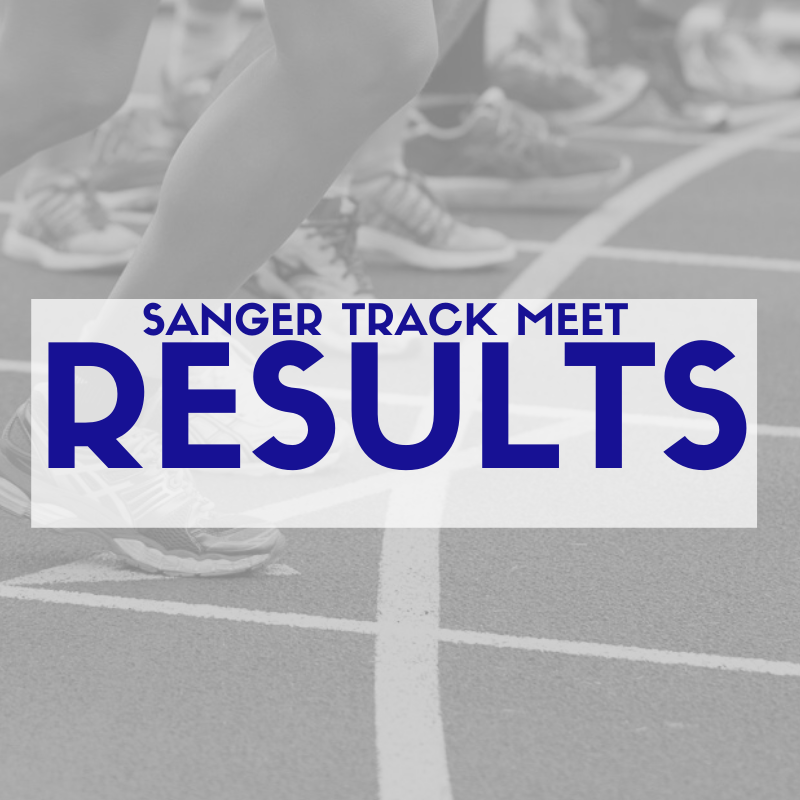 Sanger Track Meet Results Featured Photo