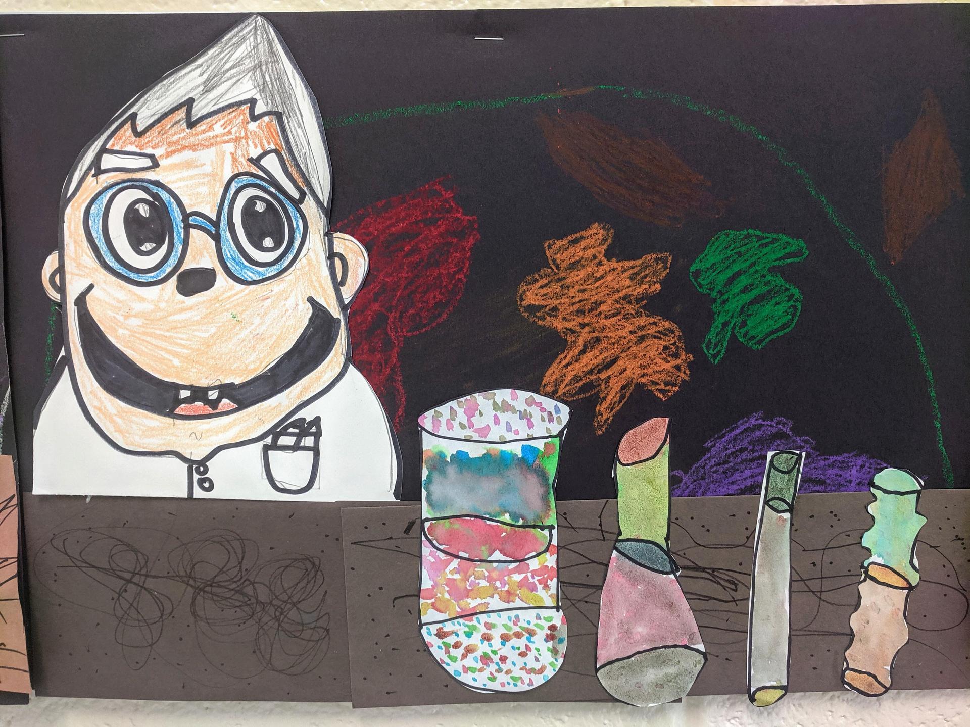 1st Grade Mad Scientist