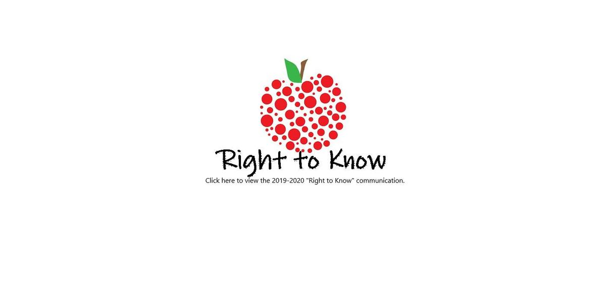 right to know link