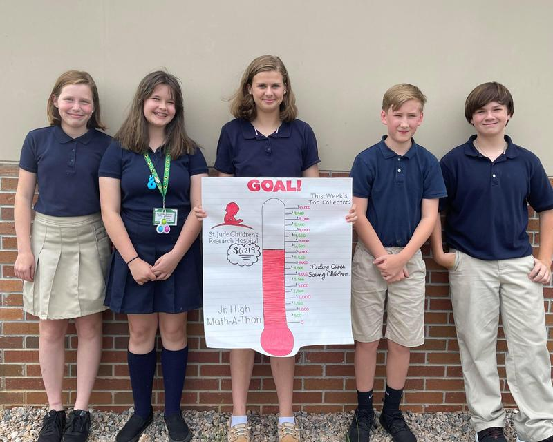 Junior High Students Raise Money for St. Jude Thumbnail Image