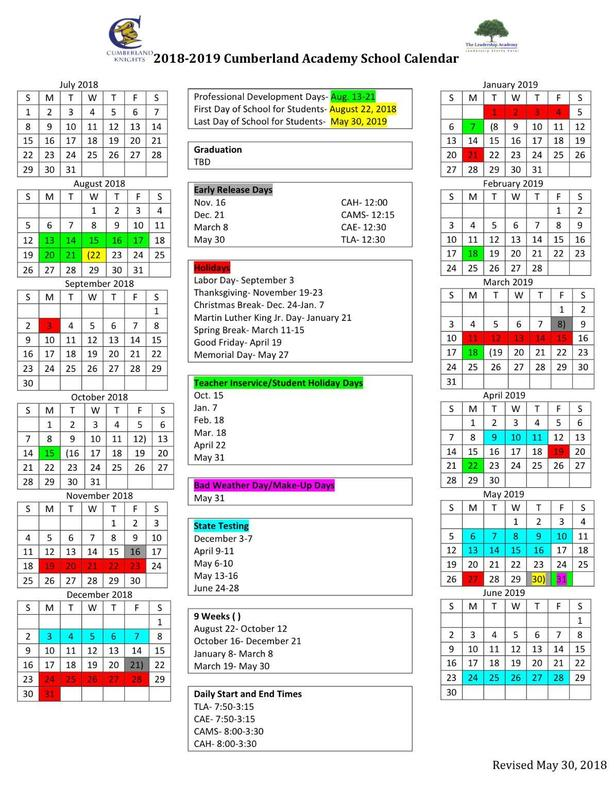 Cumberland Academy 2018-2019 Calendar.jpg