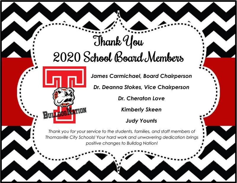 BOE members thank you