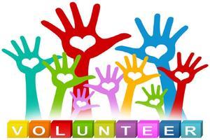 Volunteer Badge Picture Day