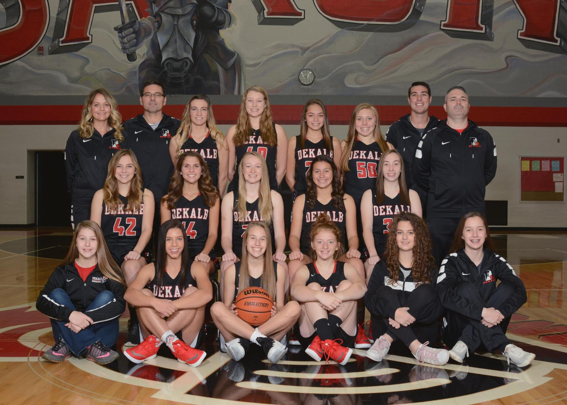 2018-2019 Varsity Lady Baron Basketball