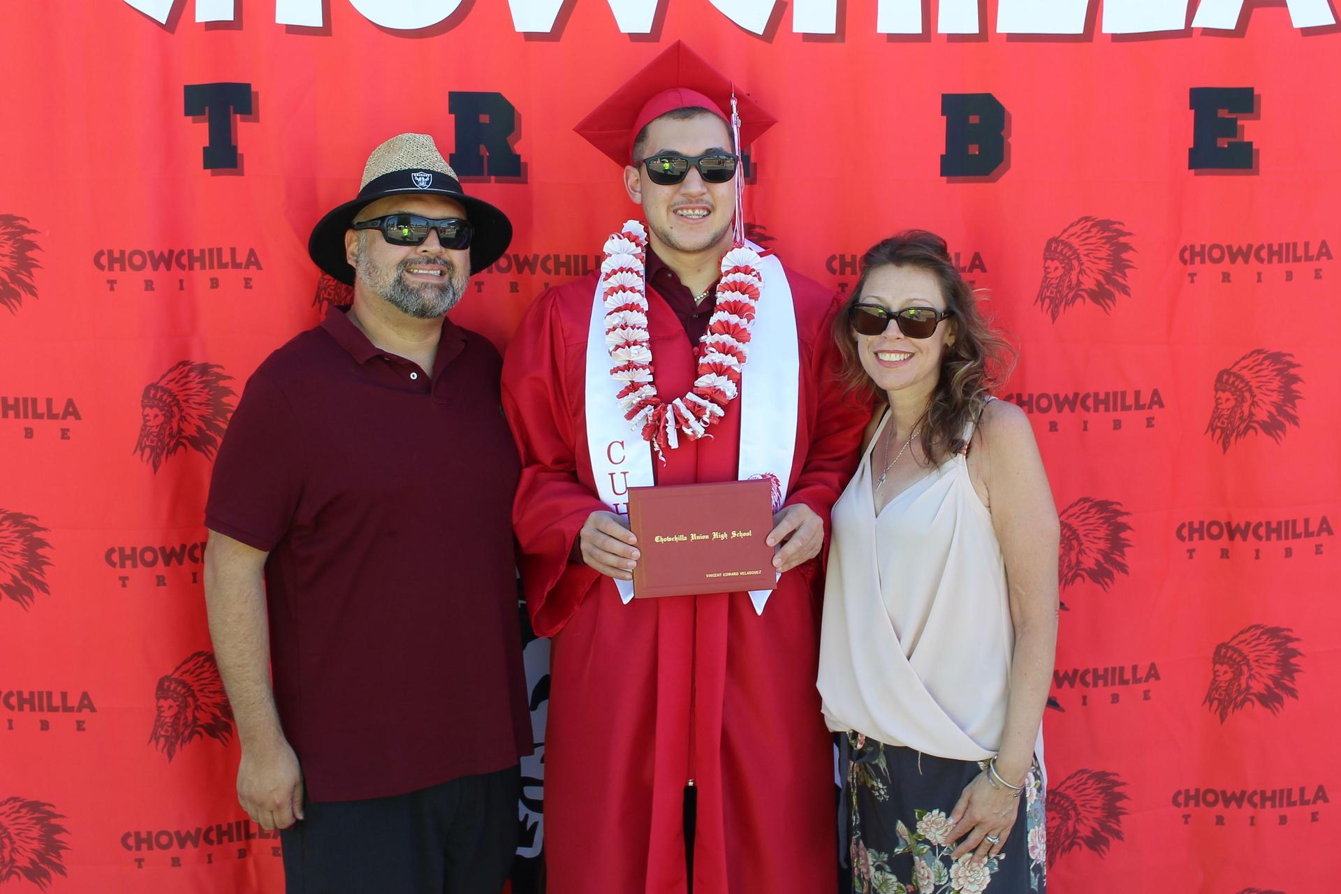 Vincent Velasquez and family