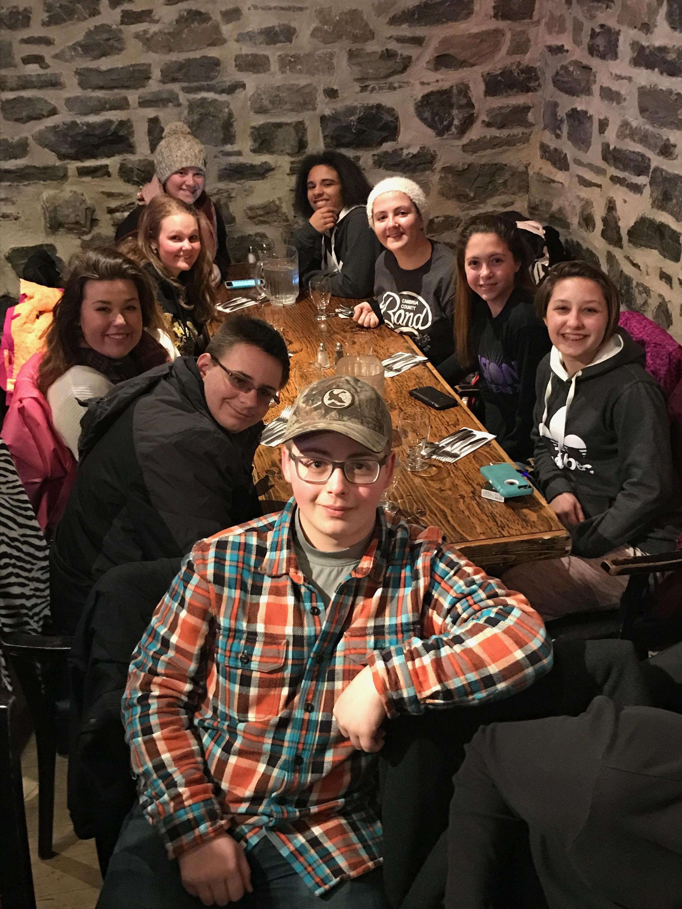 Student Group 2017 Quebec Picture
