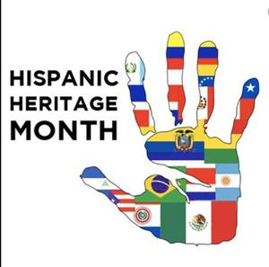 Hispanic Heritage Month Hand picture