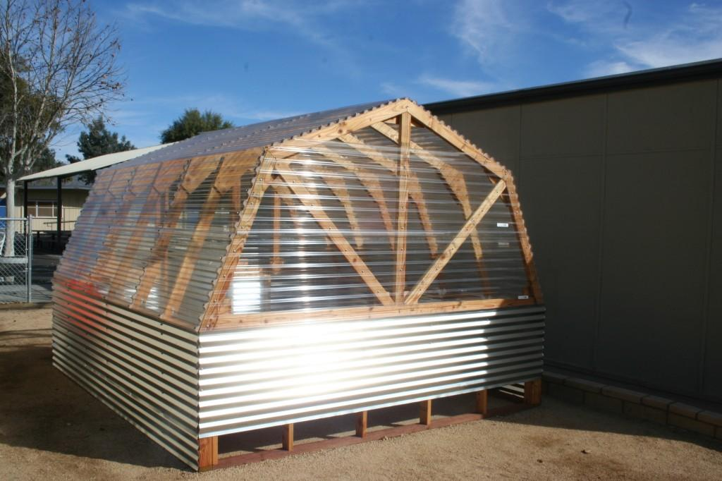 Greenhouse fully framed
