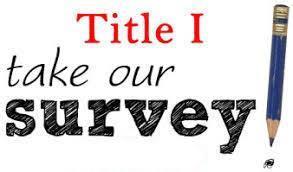Title I Funds Parent Survey Featured Photo