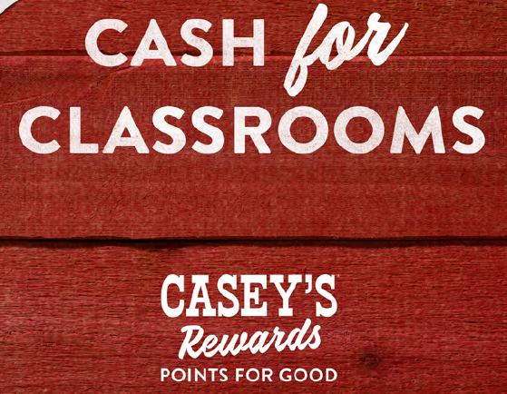 Give back to the California R-1 School District with Casey's Rewards Thumbnail Image