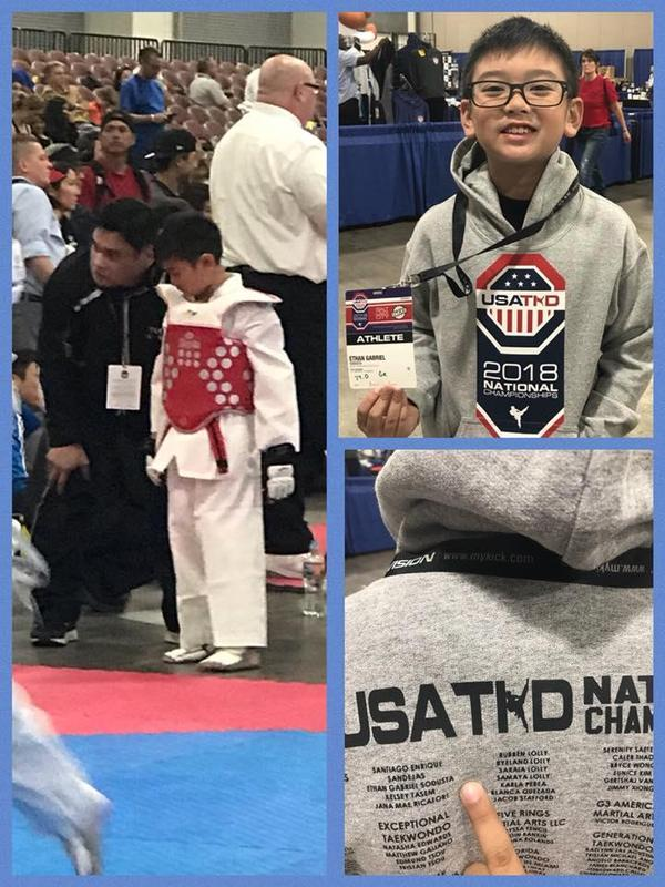Ethan Sodusta - Grade 5 - Competes for a National Championship! Featured Photo