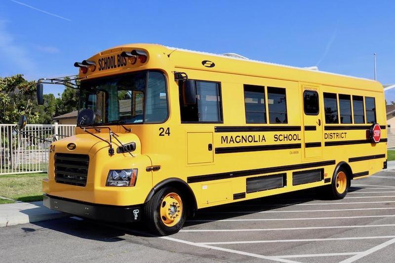 Magnolia School District Electric Bus