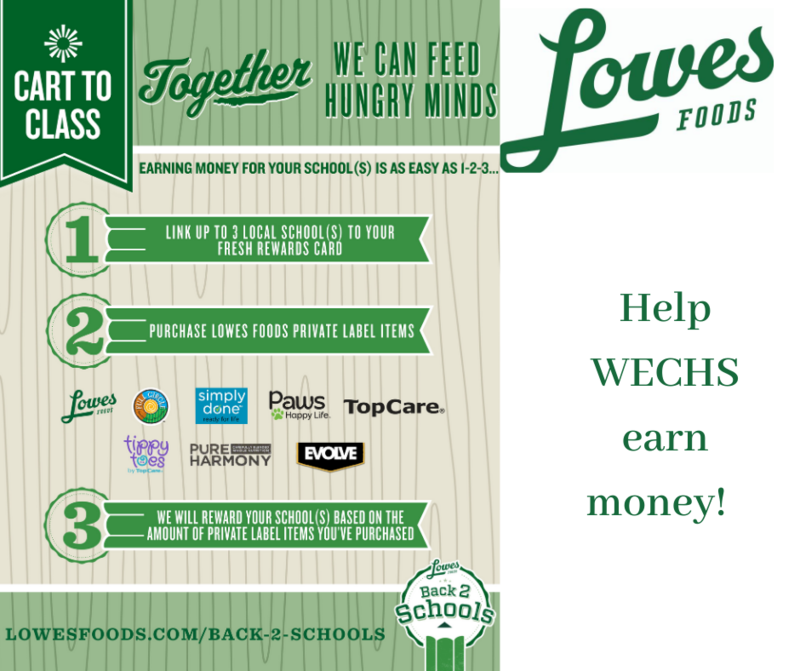 Help WECHS earn money!