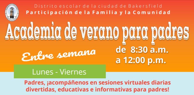 Academia de Verano para Padres Featured Photo