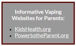 Parents Click Here for Informational Vaping Websites Featured Photo