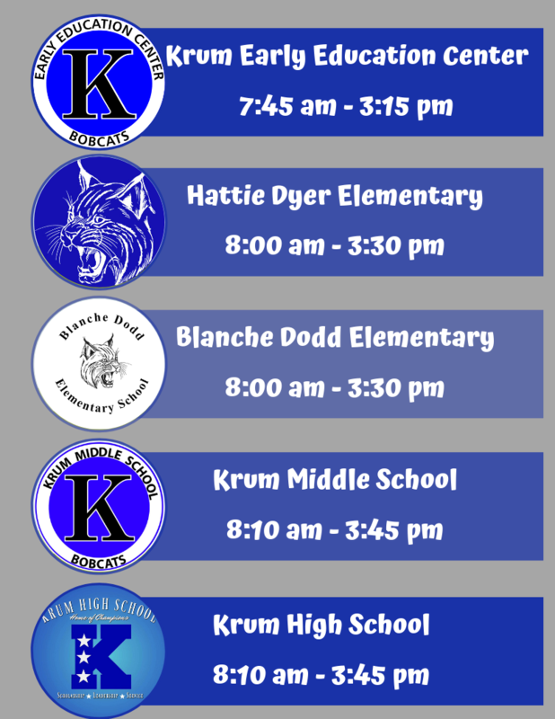 New Campus Start and Dismissal Times Featured Photo