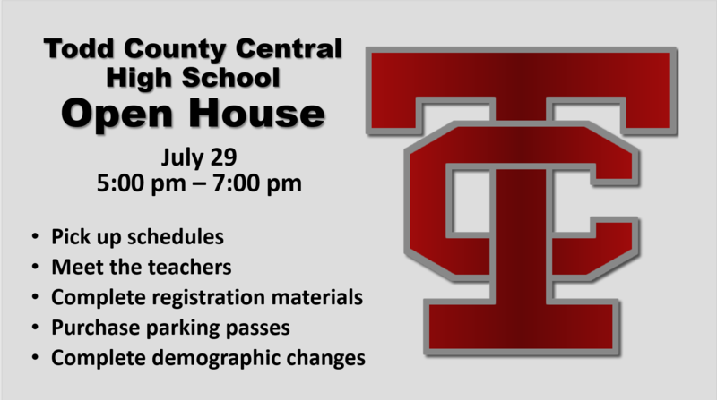 TCCHS Open House Featured Photo