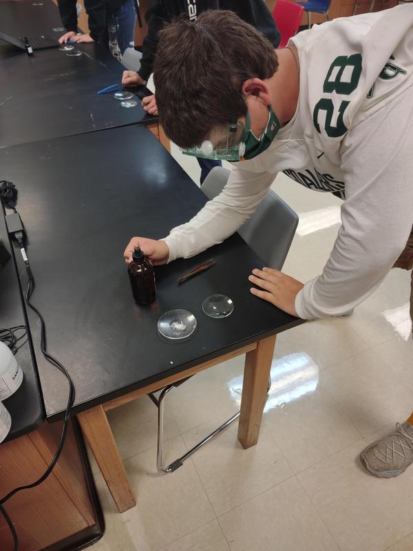 Welzen Chemistry Class
