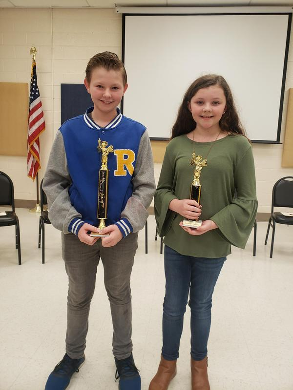 CRMS student wins Spelling Bee Featured Photo