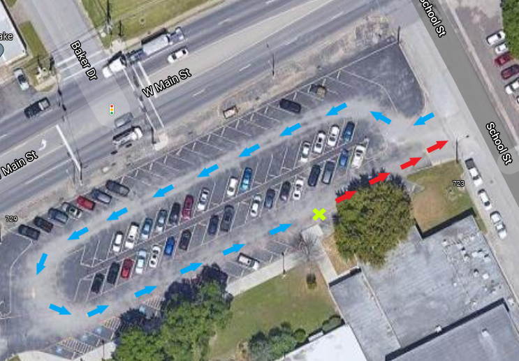 TIS curbside map