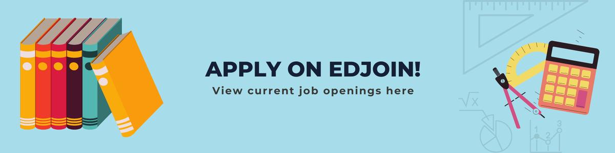 Job application link to edjoin