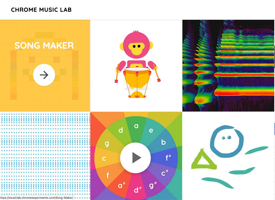 Chrome Music Lab Link