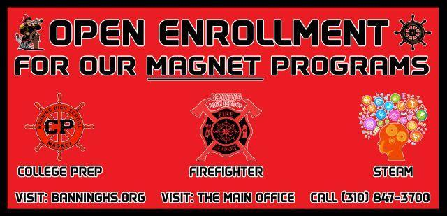 Interested in a Magnet Program at Banning HS? Featured Photo