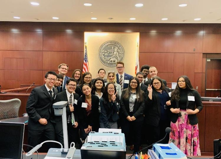 Tahquitz High School's First Mock Trial Team