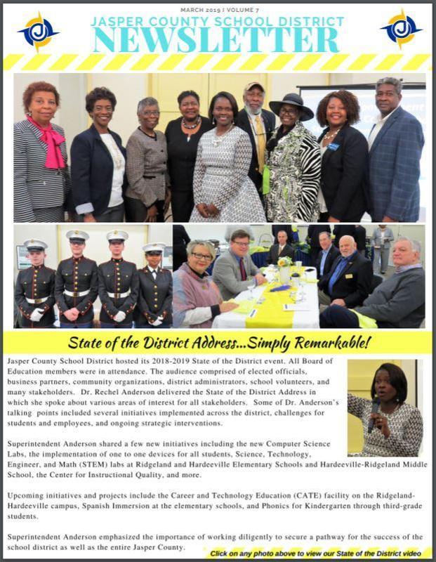 JCSD Newsletter Volume 7