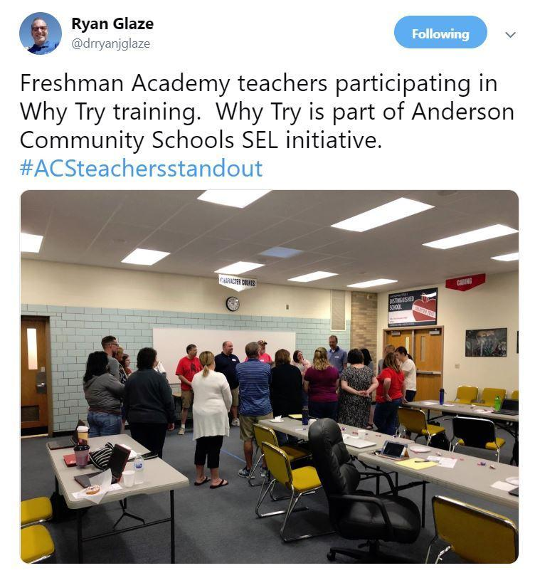 AHS Teachers ~ PD ~ Why Try?  June 2019