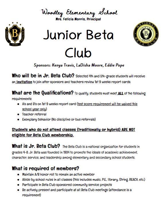BETA Club News Featured Photo