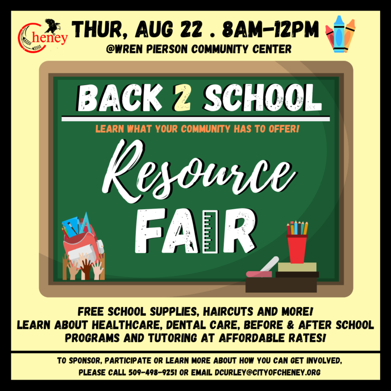 Back 2 School Resource Fair Thumbnail Image