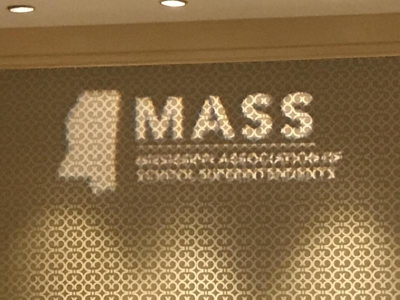 Mississippi Association of School Superintendents' Sign