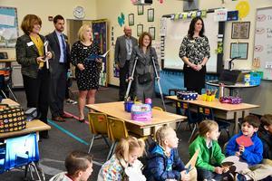 State Representative Shannon Bird visits GVA Northglenn classes