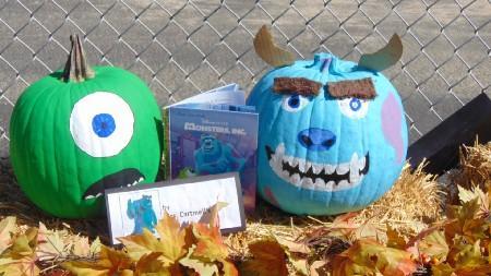 Monsters, Inc Pumpkin