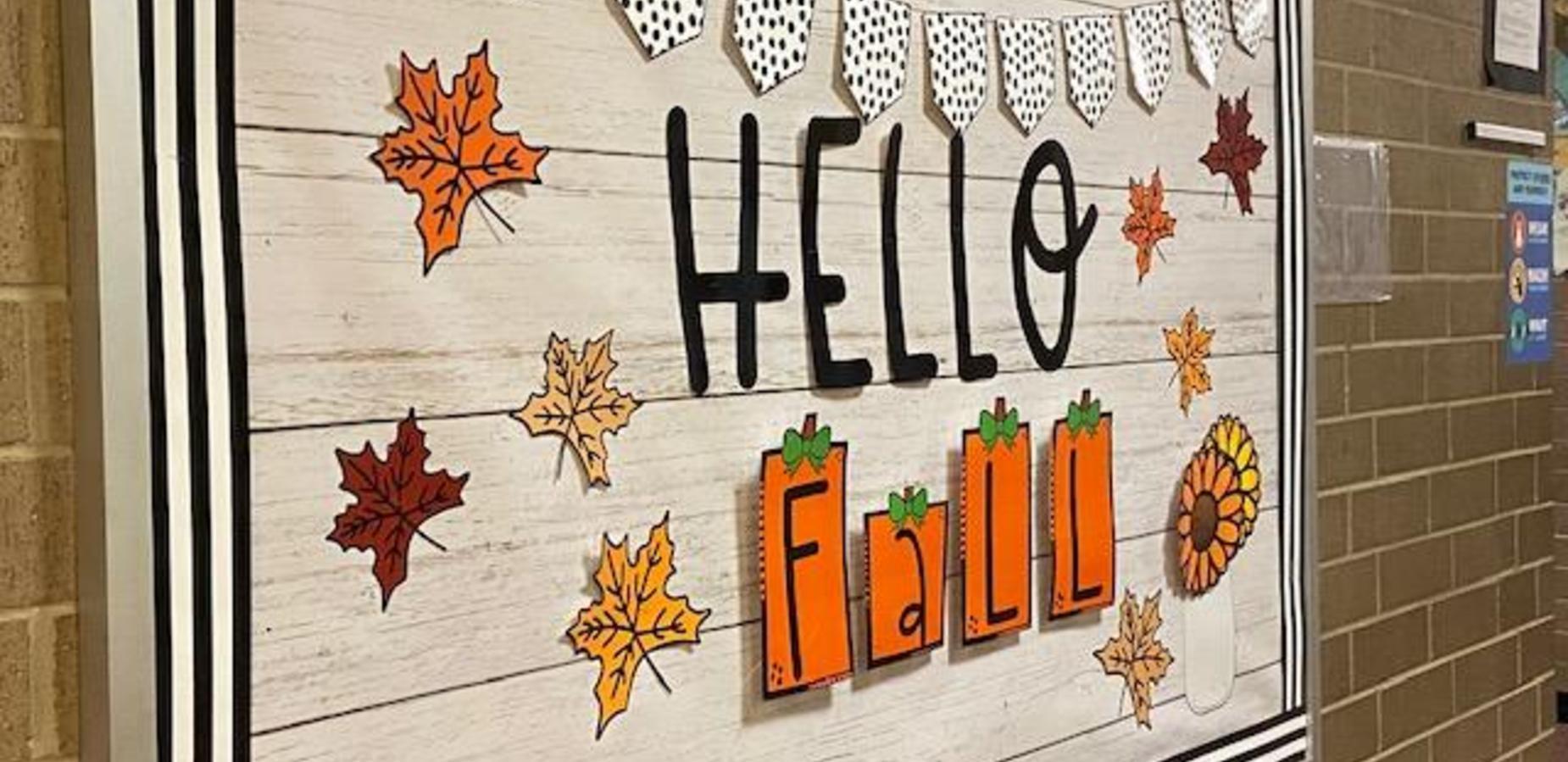 Hello Fall Bulletin Board