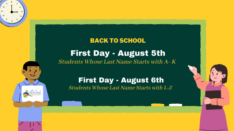 Back-to-School Dates