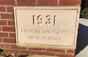 Class of 1931 brick at BCHS