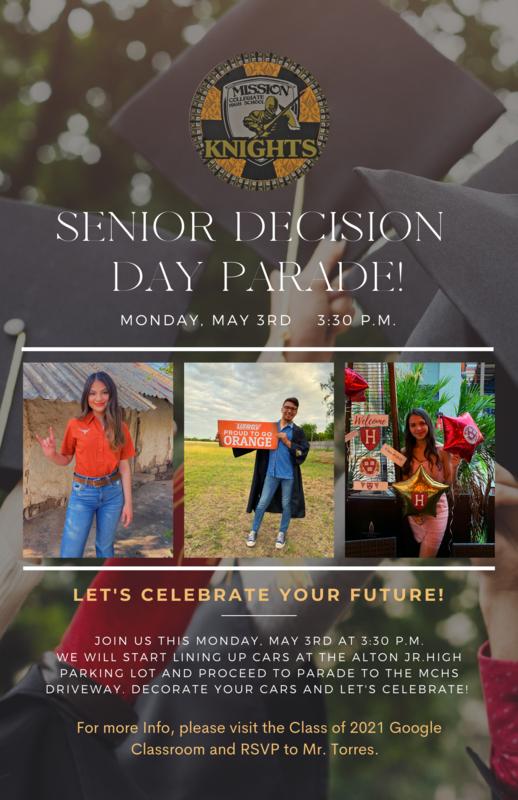 Senior Decision Day Parade! Featured Photo