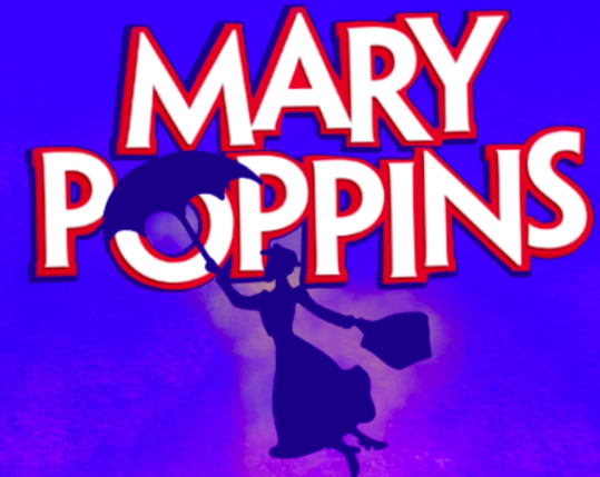 Theatre flyer for Mary Poppins