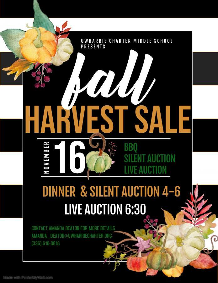 Fall Harvest Sale Nov. 16 @ 4PM Image